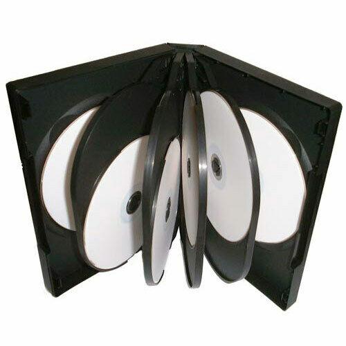 10 way black dvd case